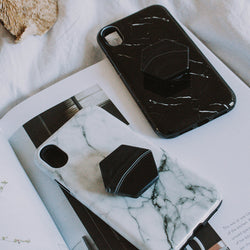 Black Agate Phone Grip