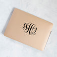 Gold Personalized Laptop Case - Janet Gwen Designs