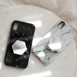 Grey Agate Phone Grip