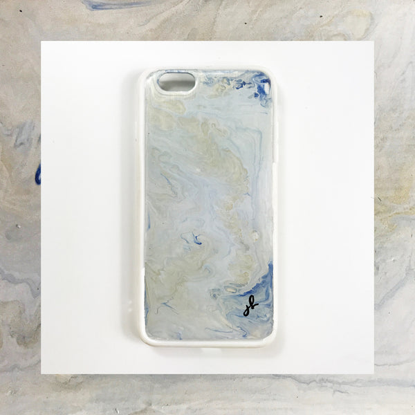 Icelandic Winds Hand Painted Phone Case - Janet Gwen Designs