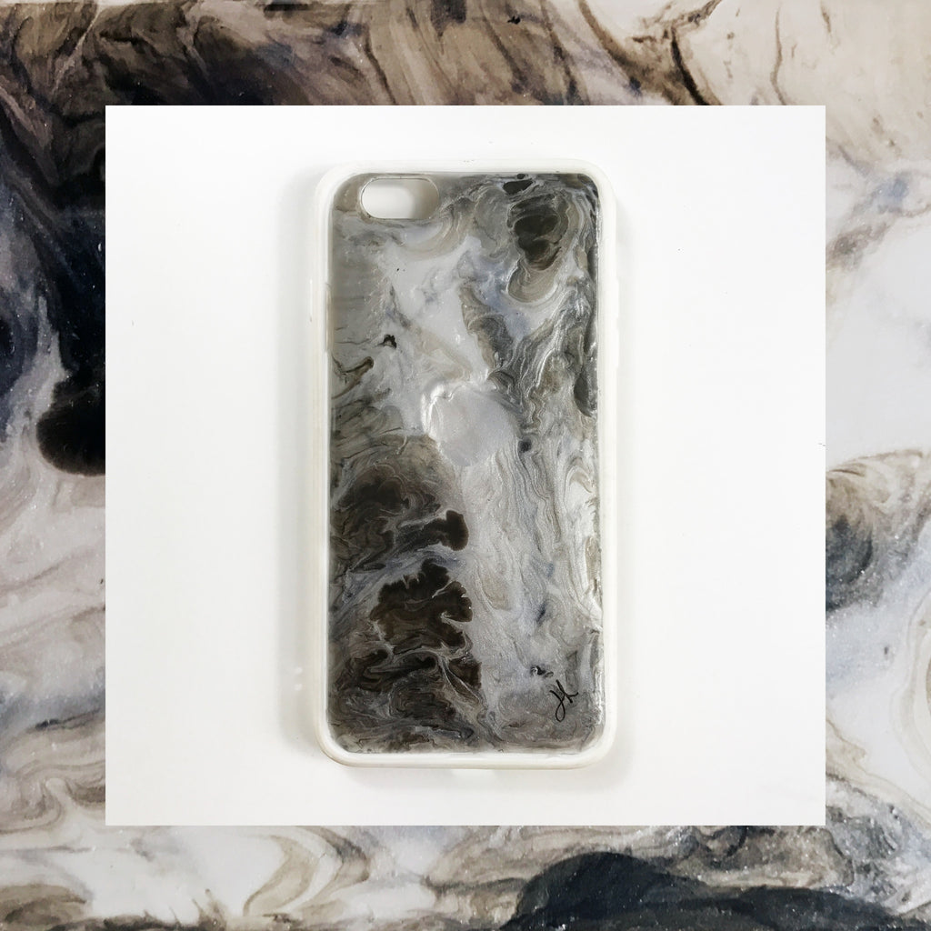 Lost In Movement Hand Painted Phone Case