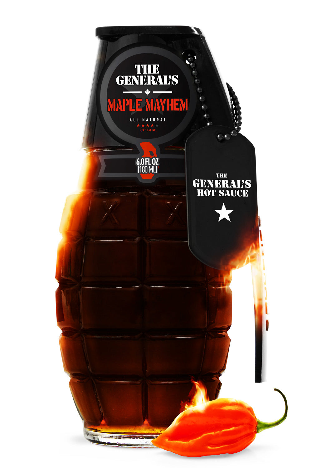 Danger Close - The General's Hot Sauce