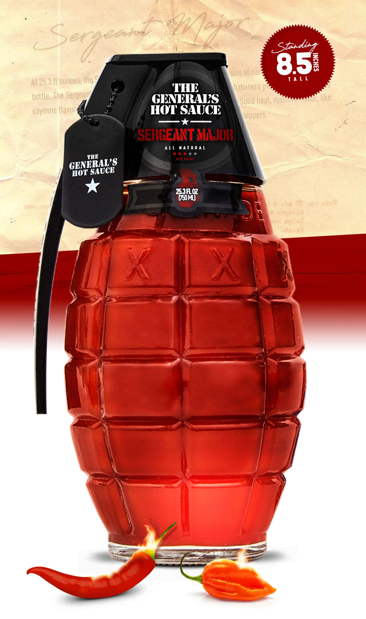 Sergeant Major big bottle - 750 ml