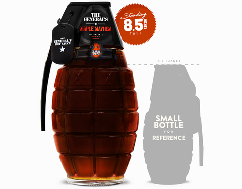 MAPLE MAYHEM - BIG BOTTLE - 750 ML
