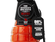 Load image into Gallery viewer, All-American Super 6 - One Bottle each of Grunt Green, HOOAH Jalapeño, Dead Red, Danger Close, Shock & Awe and Maple Mayhem