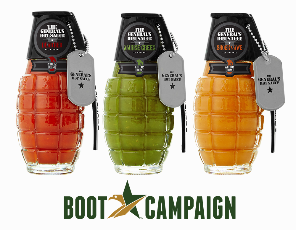 Boot Campaign  3-Pack:    Support Veterans' Health & Quality of Life