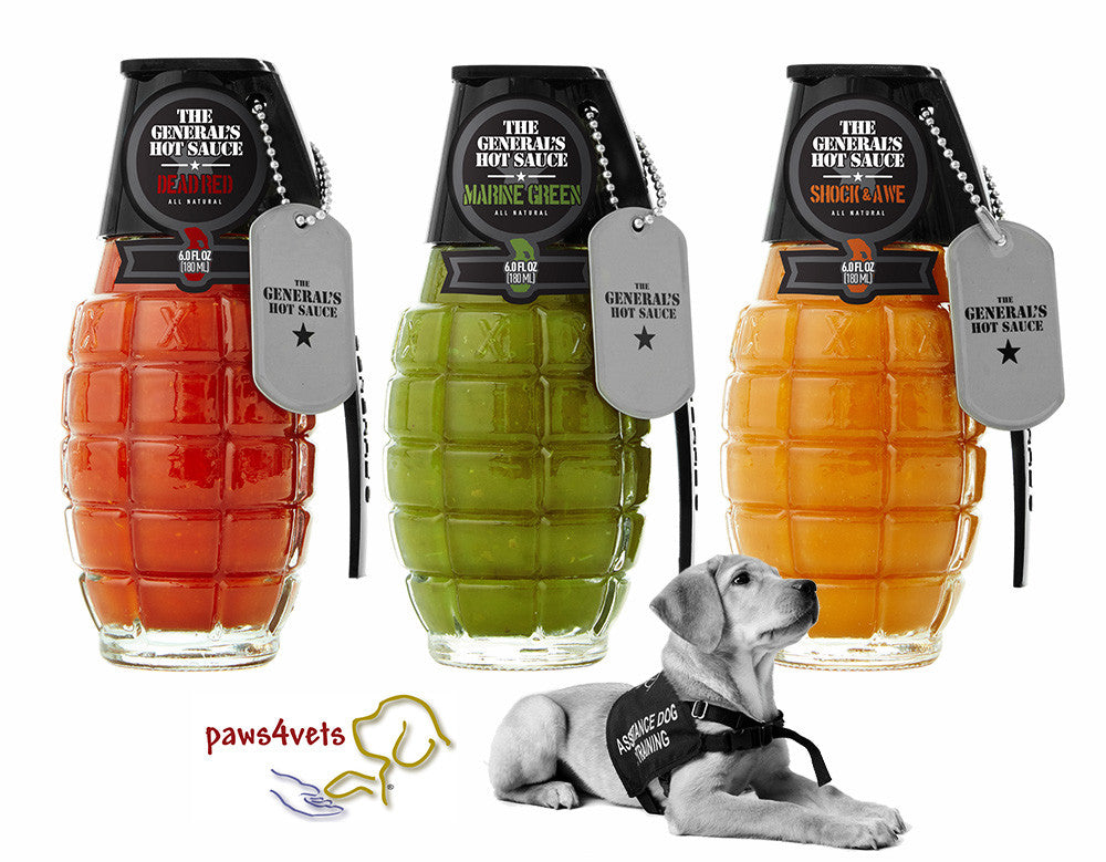 paws4vets 3-Pack:   Supports the paws4vets Placement Program