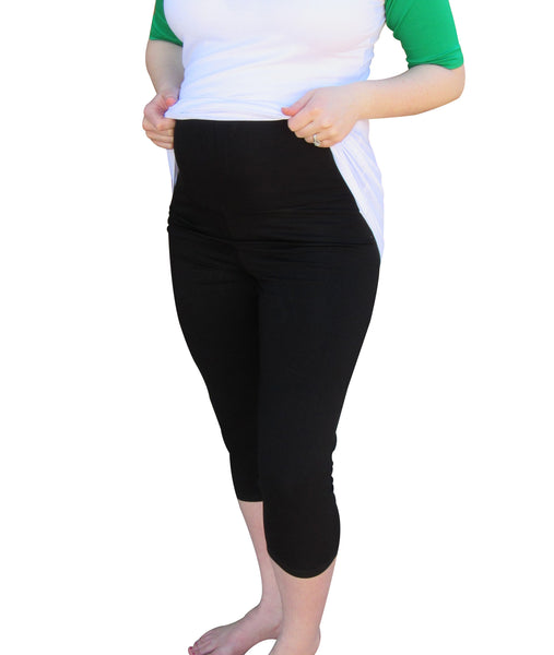 Pregnancy Capri Leggings- Maternity pants