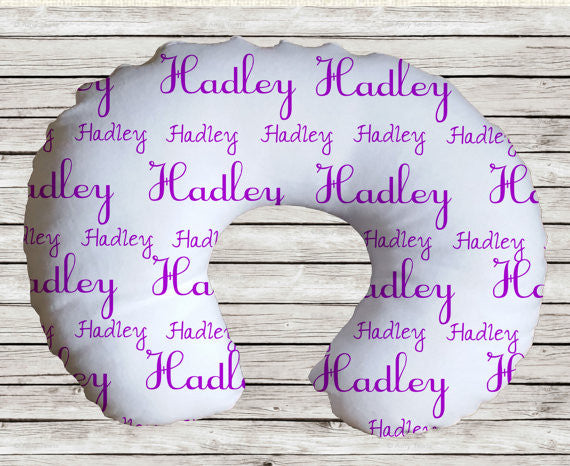 Personalized Nursing Pillow Cover  Nursing/ Baby