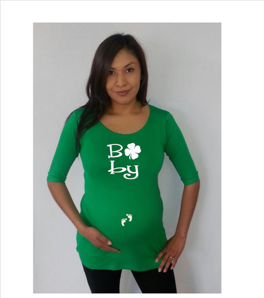 """Baby"" tee/shirt- Maternity clothes"