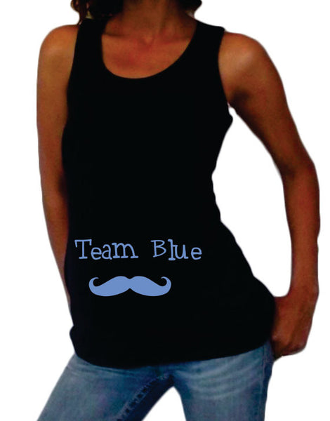 "Maternity ""Team"" Tank Top - Maternity clothes"