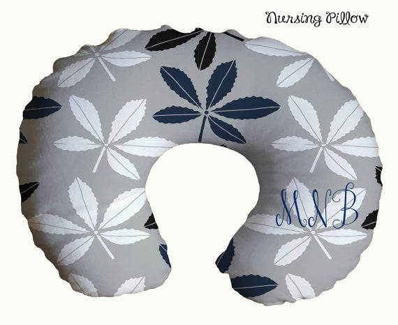 Personalized  Monogrammed  Nursing Pillow Cover...