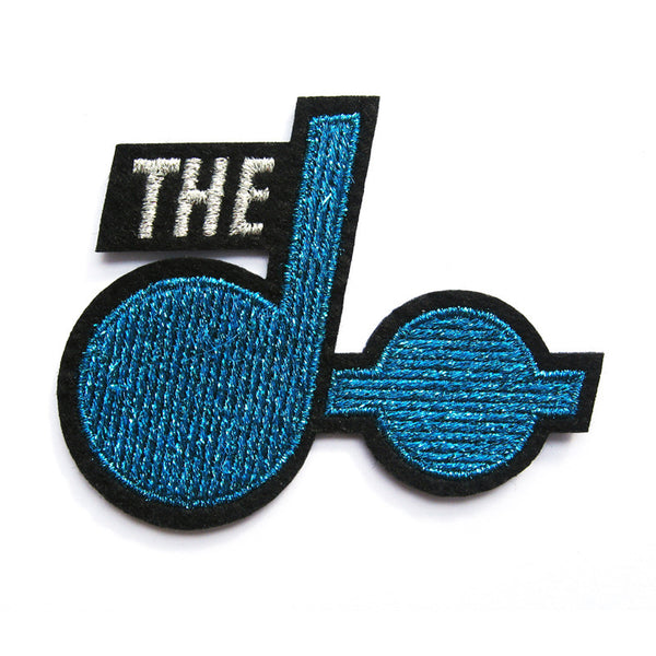 Blue Logo Patch