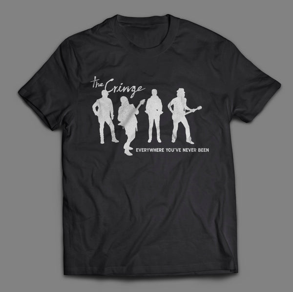 'Everywhere You've Never Been' - T-Shirt