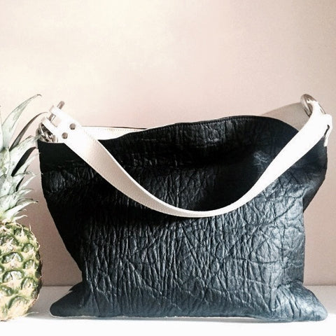 Almira Pinatex Pineapple Leather Bag - Shop Loren