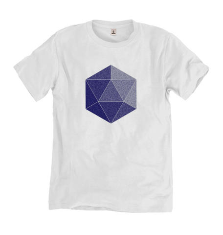Men's Icosahedron Bamboo T-shirt - Shop Loren