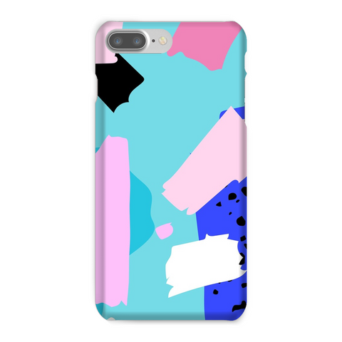 Blue Punch Phone Case