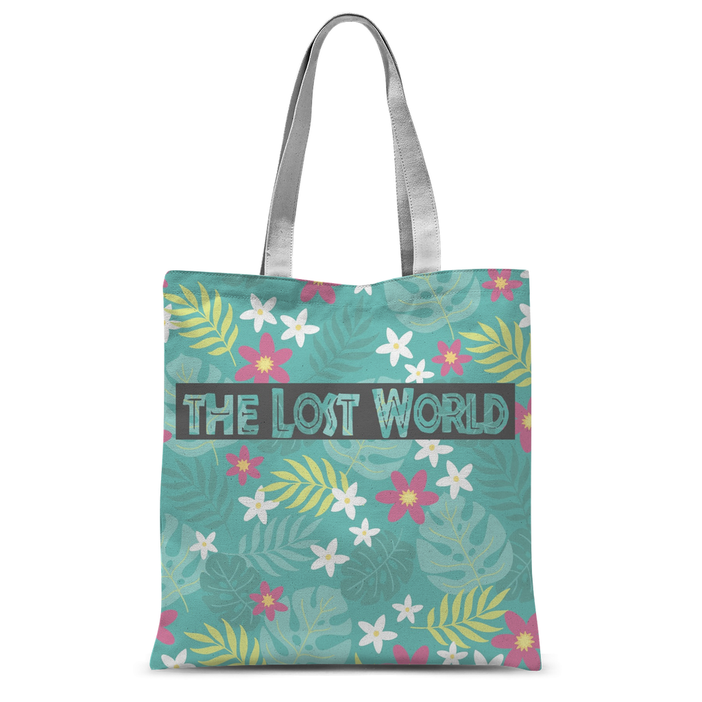 Jurassic Park Inspired Tote Bag