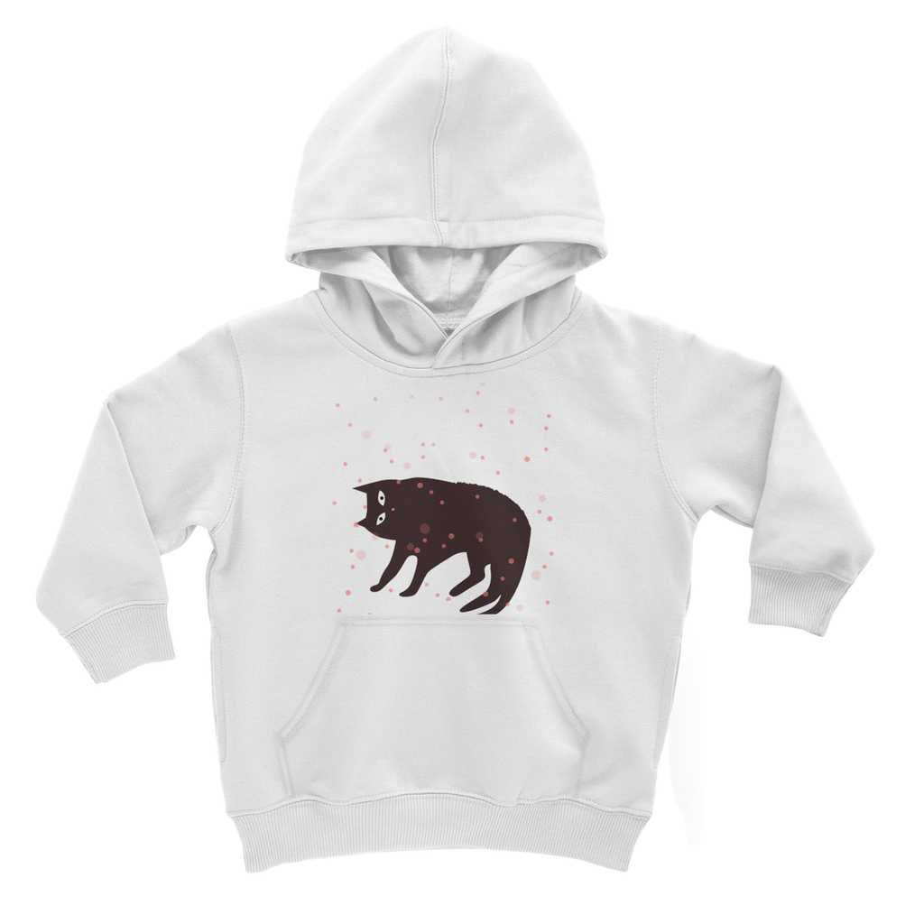 Tickle My Tum Cat Kids Hoodie