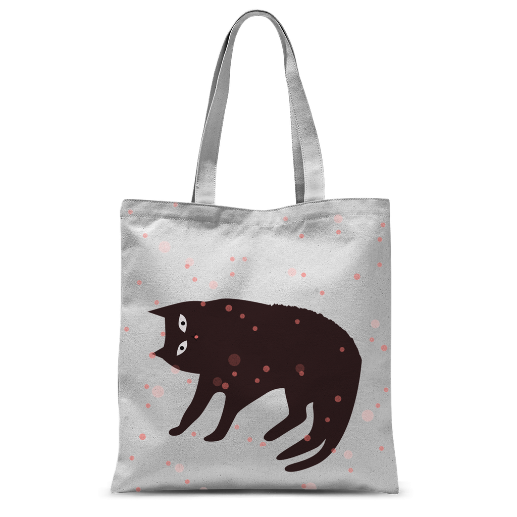 Tickle My Tum Cat Tote Bag