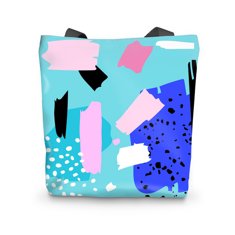 Blue Punch Tote Bag - Shop Loren