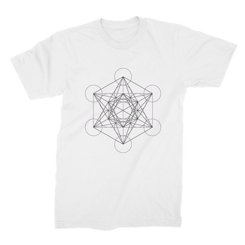 Men's Metatron's Cube T-Shirt - Shop Loren