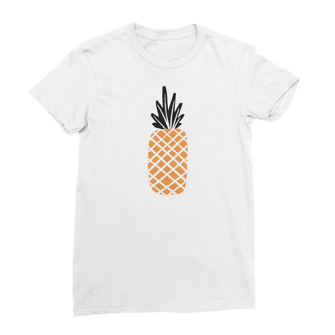 Women's American Apparel T-Shirt - Pineapple