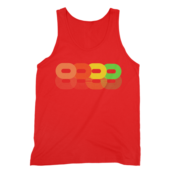 Retro Super 8's Fine Jersey Tank Top