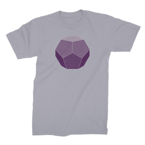 Dodecahedron Sacred Geometry T-shirt