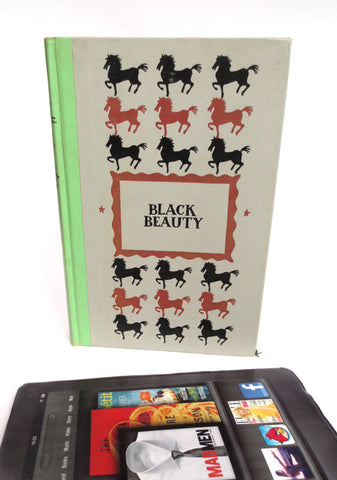 Black Beauty Book tablet case