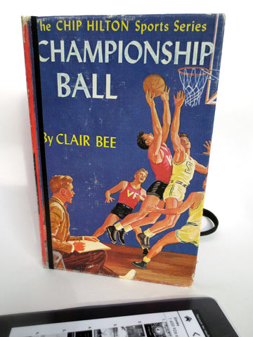 Basketball Case from 1948 Boys Book with Jersey Lining