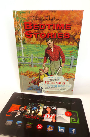 Bedtime Stories Case Made from Kitschy Kids Book