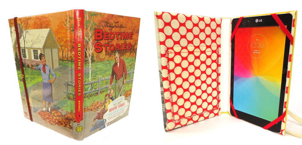 Book tablet cases