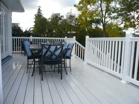 Vinyl Decking Endeck Woodland Series Ashwood Porch