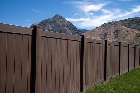 Solid Privacy Fence Panel - Specialty Colors