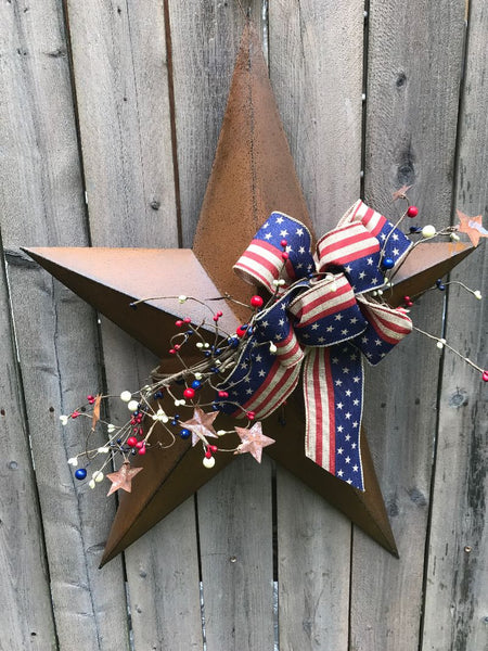 Patriotic Longfellow Star
