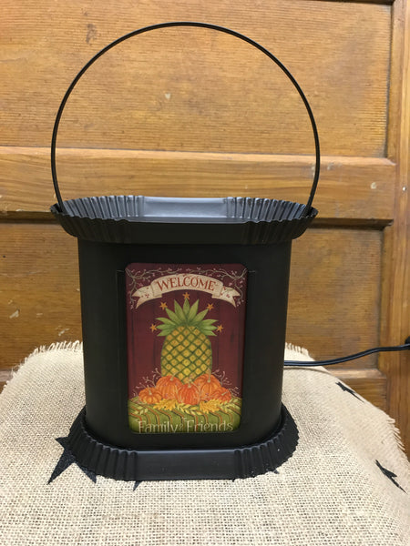 Fall Black Tin Warmer