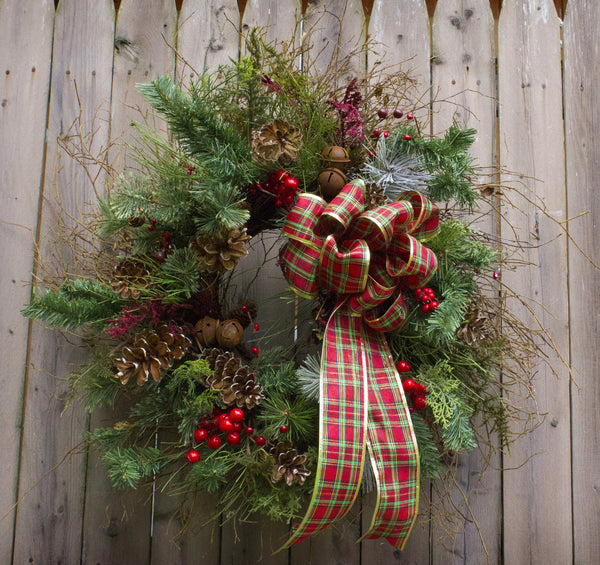 Christmas Woodland Wreath