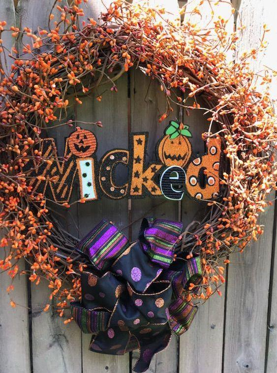 Wicked Wreath