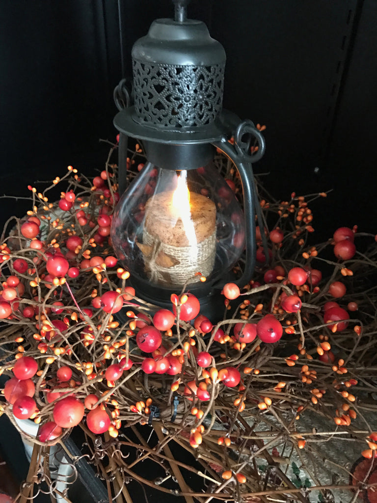 Fall Lantern Arrangement