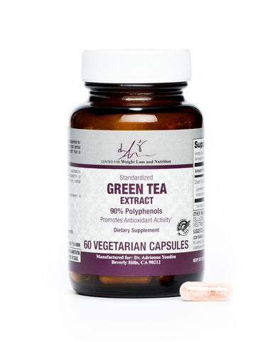 Green Tea Extract 90% Polyphenols Vegetarian Capsules-60 Count