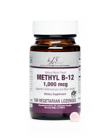 Methyl B12 Lozenge-Berry Flavor - 100 Count