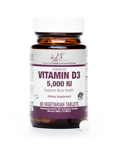 Vitamin D3-5000 IU Softgels-60 Count
