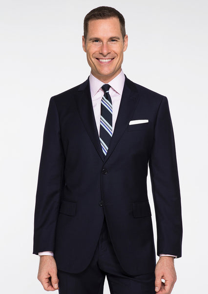 Dark Navy Solid Suit