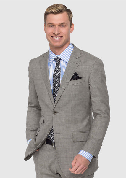 Houndstooth Check Suit