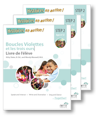 Boucles Violettes *NEW 2018 Edition - Student Workbooks (minimum of 20)
