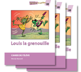 Louis la grenouille - Student Workbooks (minimum of 20)