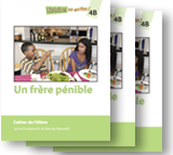 Un frère pénible - Student Workbooks (minimum of 20)