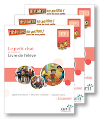 Le petit Chat cherche une famille *New 2018 Edition - Student Workbooks (minimum of 20)