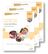 Le garçon qui joue des tours *NEW 2017 Edition - Student Workbooks (minimum of 10)